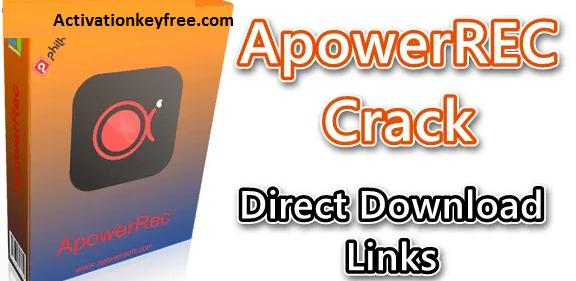 ApowerREC 1.4.12.8 Crack [Latest Version 2021] Activation Code