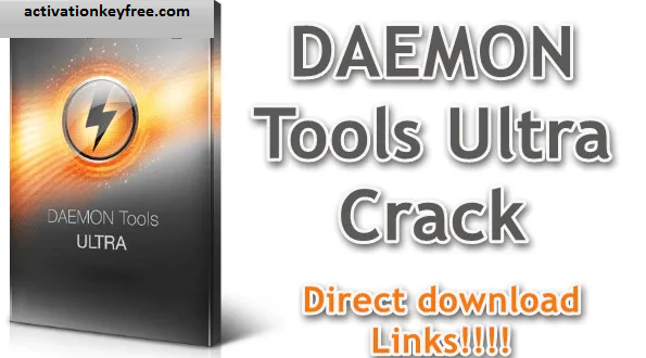 DAEMON Tools Ultra 6.0.0.1623 Crack + With Activation Key New Version