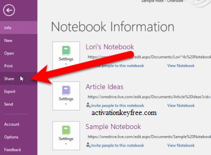 Microsoft OneNote Key